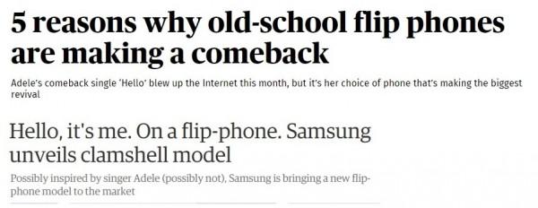 Adele_flip-phone