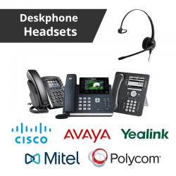 Deskphone Headsets For Any Deskphone