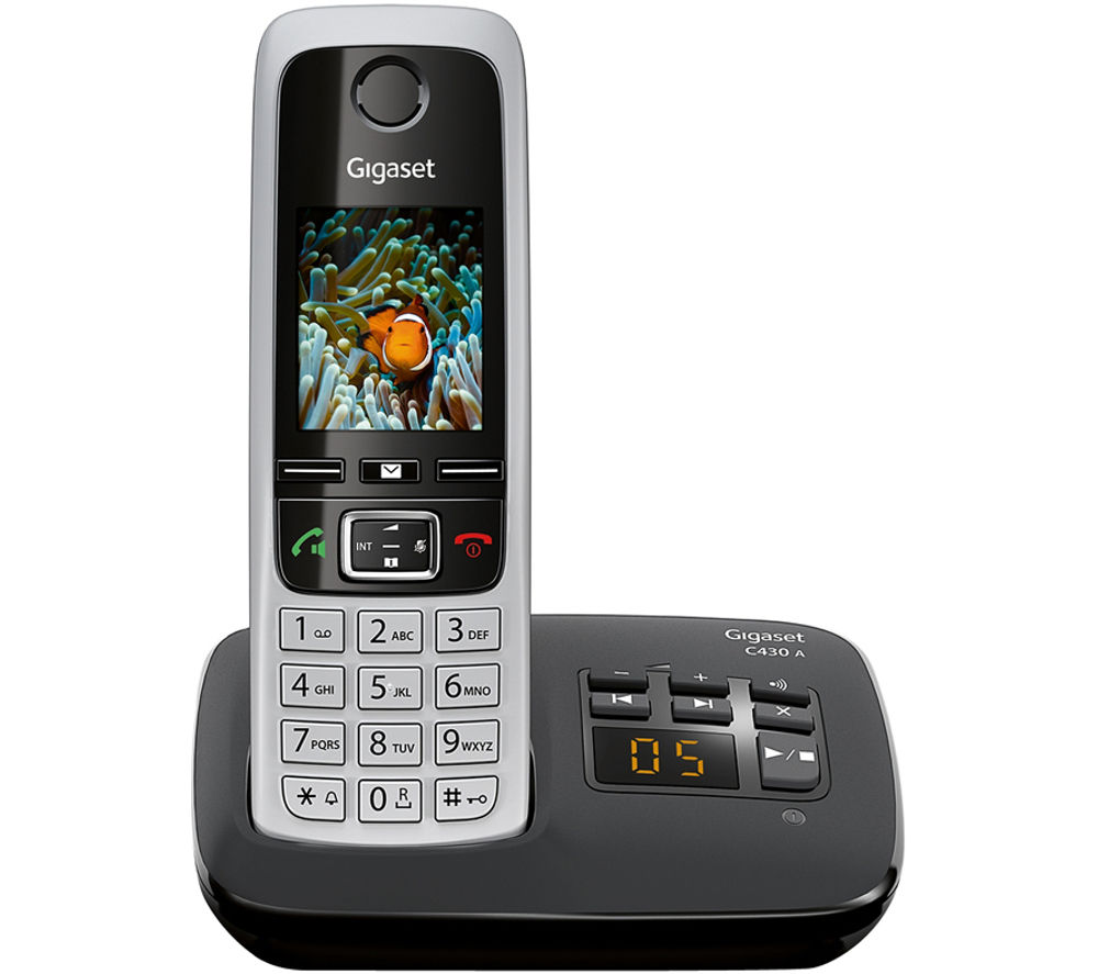 image of a GIGASET C430A Cordless Phone with Answering Machine