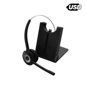 image of monaural dect wireless headset