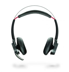 image of plantronics voyager focus noise cancelling headset without stand