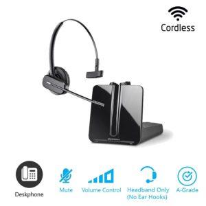 plantronics cs540 convertible dect cordless headset