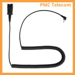 2.5mm headset jack plug PMC Telecom