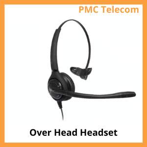 Image of a overhead headset