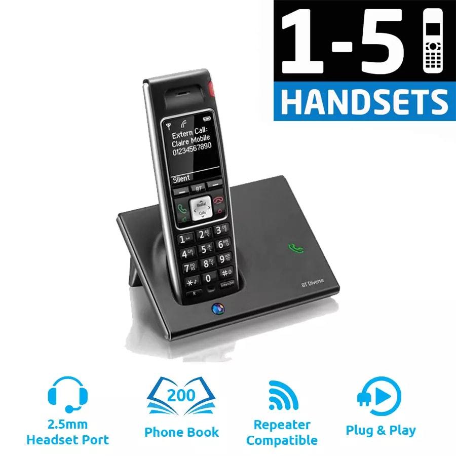 BT Diverse 7410 Plus - DECT Cordless Phone