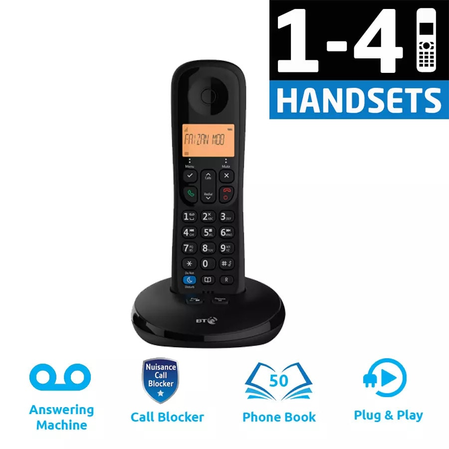 BT Everyday Phone with Answering Machine