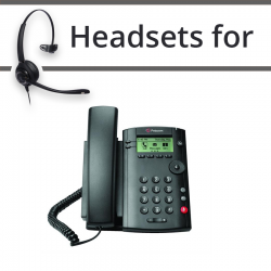 Headsets for Polycom Soundpoint VVX 101