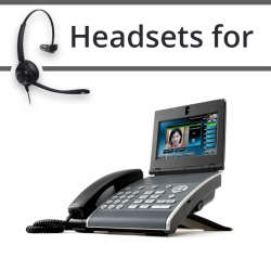 Headsets for Polycom VVX1500