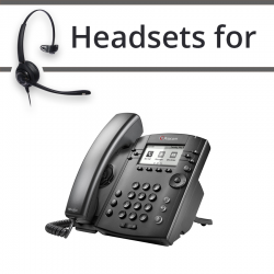 Headsets for Polycom Soundpoint IP 300