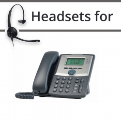 Headsets for Cisco SPA303G