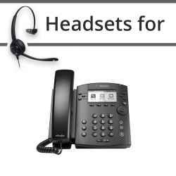 Headsets for Polycom Soundpoint VVX 311