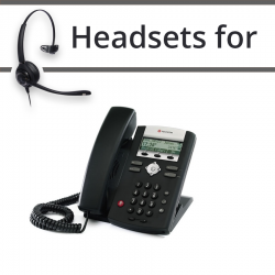 Headsets for Polycom Soundpoint IP 331