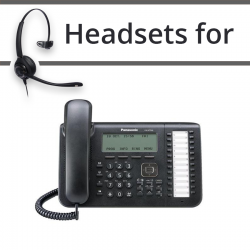 Headsets for Panasonic KX-NT543