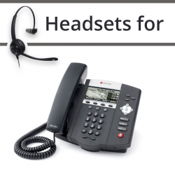 Headsets for Polycom Soundpoint IP 450
