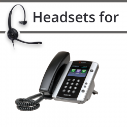 Headsets for Polycom VVX 500