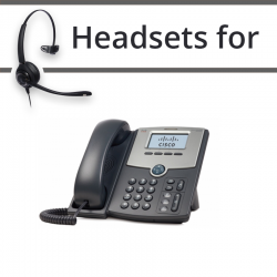 Headsets for Cisco SPA502G