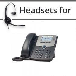 Headsets for Cisco SPA504G
