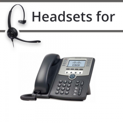 Headsets for Cisco SPA509G