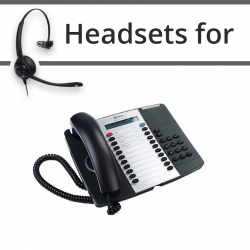 Headsets for Mitel 5207
