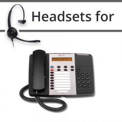 Headsets for Mitel 5215