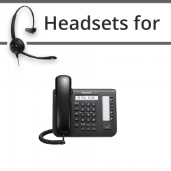 Headsets for Panasonic KX-DT521