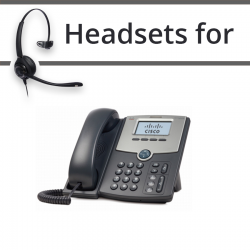 Headsets for Cisco SPA521G