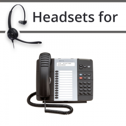 Headsets for Mitel 5312