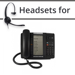 Headsets for Mitel 5320e