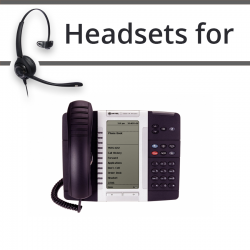 Headsets for Mitel 5330