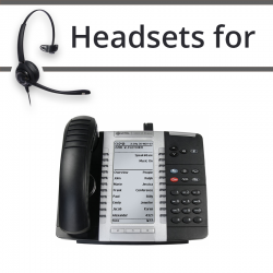 Headsets for Mitel 5340