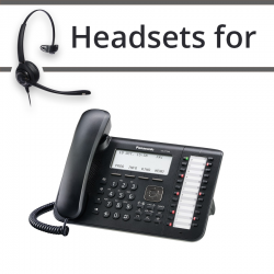 Headsets for Panasonic KX-DT546