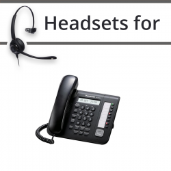 Headsets for Panasonic KX-NT551