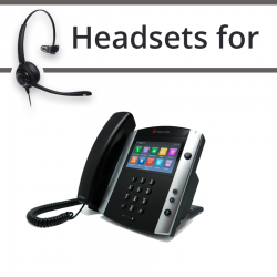 Headsets for Polycom VVX 600
