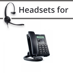 Headsets for Mitel 6863i