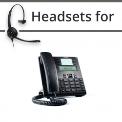 Headsets for Mitel 6865i