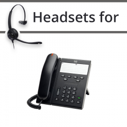 Headsets for Cisco 6911