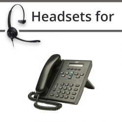 Headsets for Cisco 6921
