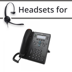 Headsets for Cisco 6945