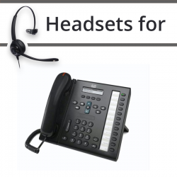 Headsets for Cisco 6961