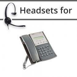 Headsets for Mitel MiVoice 7433