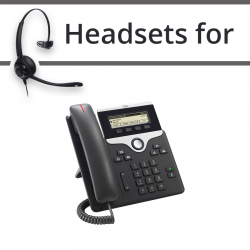 Headsets for Cisco 7811