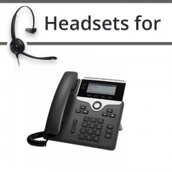 Headsets for Cisco 7821