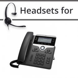 Headsets for Cisco 7841