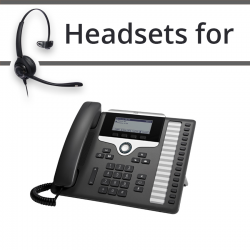 Headsets for Cisco 7861