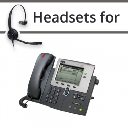 Headsets for Cisco 7942G