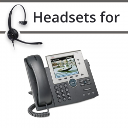Headsets for Cisco 7945G