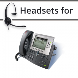 Headsets for Cisco 7960