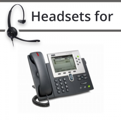 Headsets for Cisco 7961