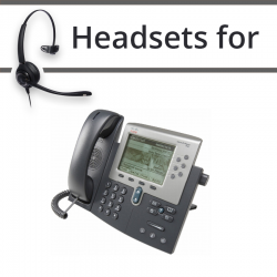 Headsets for Cisco 7962