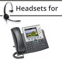 Headsets for Cisco 7965